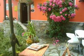 <h5>Terrasse</h5><p>Dies ist die Terrasse des Hotels Peñalba in Asturias</p>
