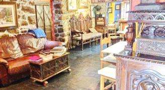 <h5>Salon</h5><p>Detail Salon gemeinsam Peñalaba Hotels, Asturias.</p>